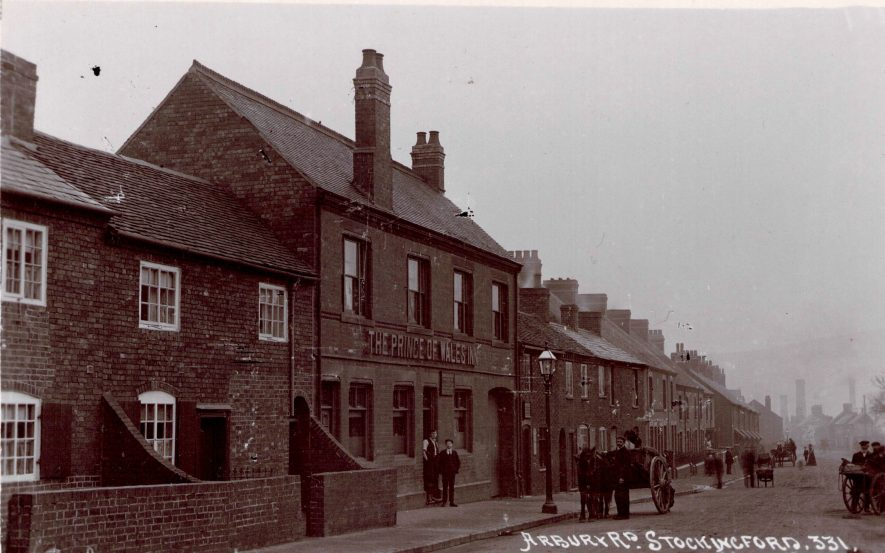 Stockingford. The Prince Of Wales Public House, which is still there today, but under a different name. | Image courtesy of Michael Short, supplied by Nuneaton Memories