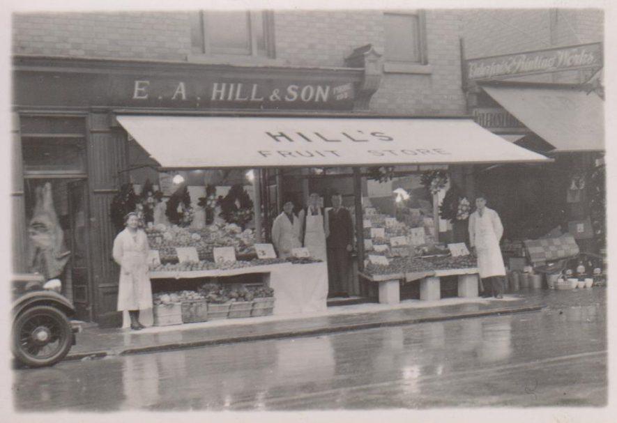 Attleborough. E.A. Hill & Son | Image courtesy of Vanessa Paterson, supplied by Nuneaton Memories