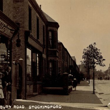 Stockingford.  Arbury Road
