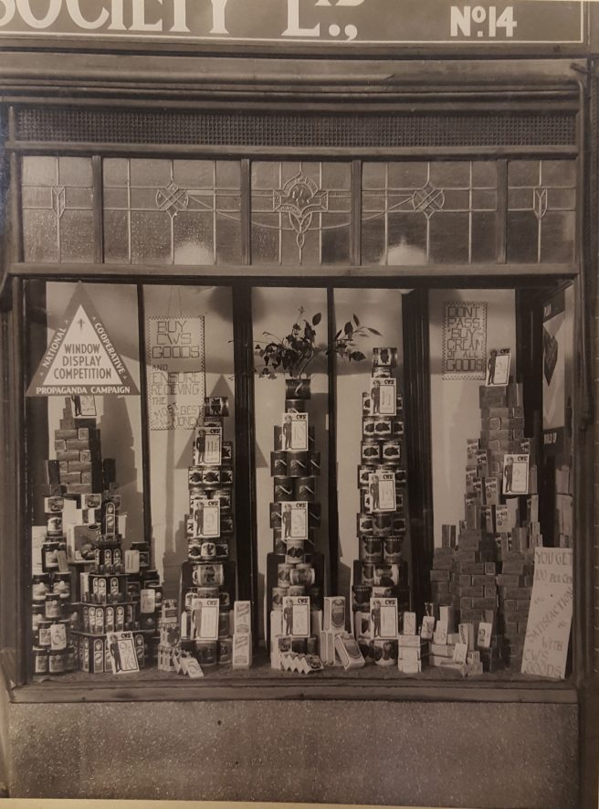 Co-op branch number 14 - Central Avenue Nuneaton. This later became the Co-op Funeral Service until they relocated couple of years back. | Image courtesy of Heart Of England Co-operative Society, supplied by Nuneaton Memories