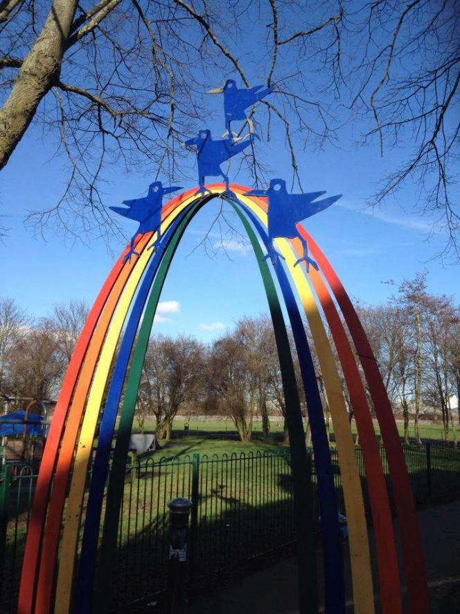 The Rainbow Arch