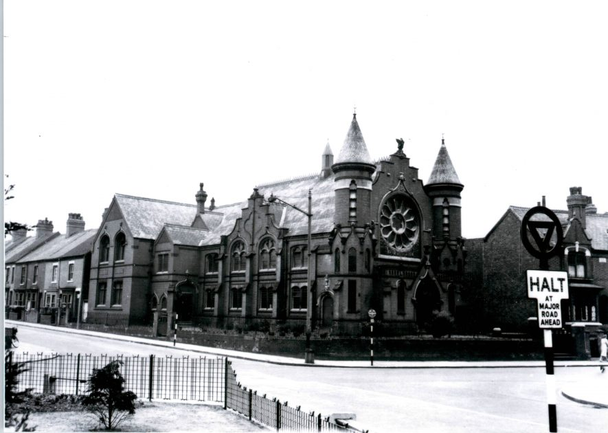 Nuneaton. Primitive Methodist Church | Image courtesy of Robert Bennett, supplied by Nuneaton Memories