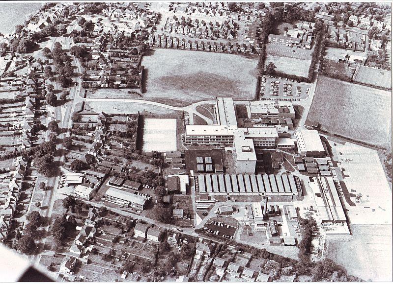 Nuneaton. North Warwickshire & Hinckley College   Image courtesy of Nuneaton and Bedworth Borough Council, supplied by Nuneaton Memories