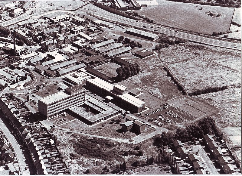 Nuneaton. George Eliot Hospital. | Image courtesy of Nuneaton and Bedworth Borough Council, supplied by Nuneaton Memories