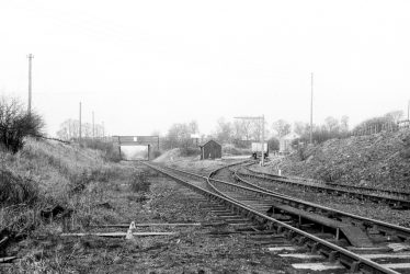 Flecknoe.  Site of Station