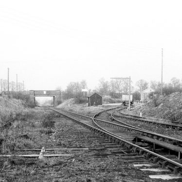 Flecknoe.  Site of Station