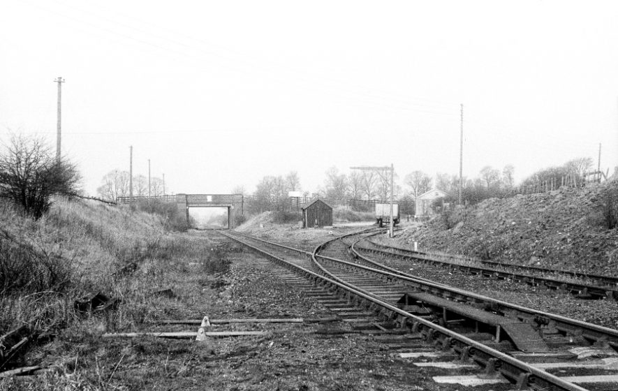 Flecknoe. Site of station, on the Braunston to Leamington line. | Image courtesy of the Tony Newman collection