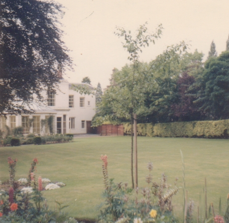 Colour view of the garden at Cliffe Hill, 1960s - early 1970s. | Image courtesy of Kevin Moloney