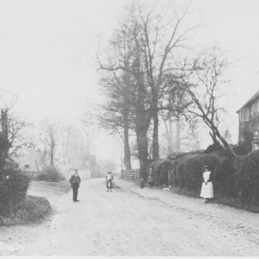 Frankton.  Cottages and Street Scene