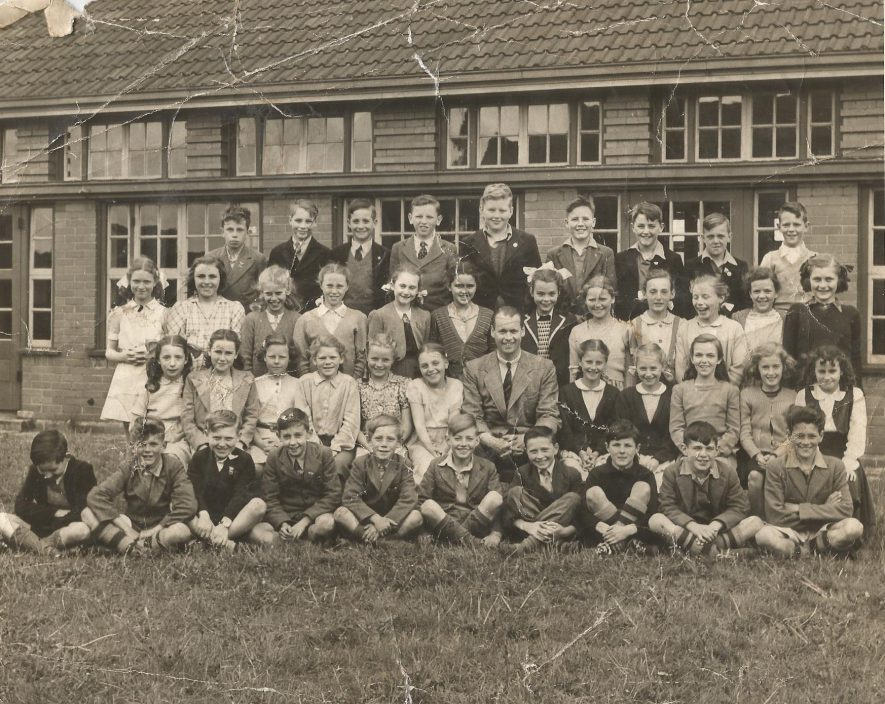 Binley infant school. Mr Clark's class, 1943/1944. | Image courtesy of Frank Redfern