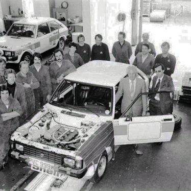 Talbot Sunbeam Lotus. A Local Car, Now Aged 40