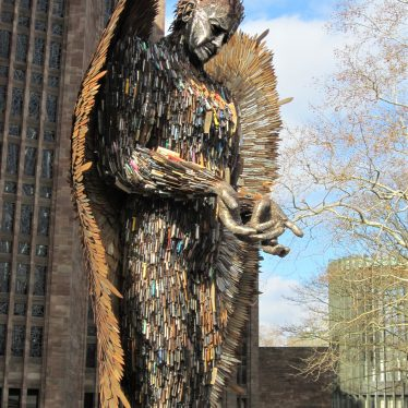 The Knife Angel in Coventry, Set in Context