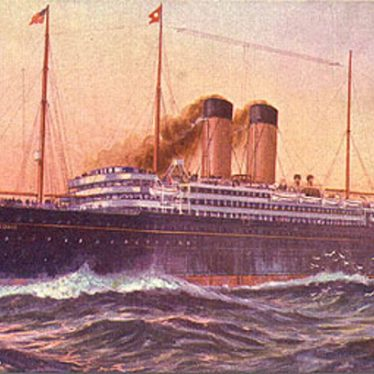The White Star Liner Cedric, undated. | Image originally uploaded to Wikipedia
