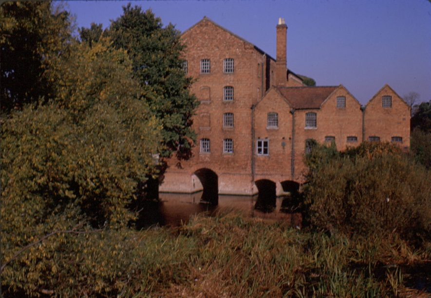 Stratford-upon-Avon. Lucy's Mill, January 1965. | Image courtesy of Geoffrey Hammond