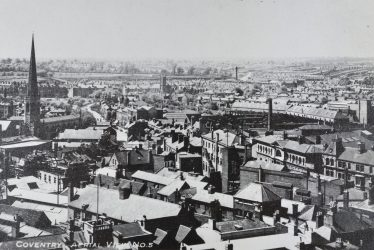 Coventry.  Aerial View