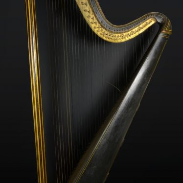 Warwickshire in 100 Objects: 19th Century Harp