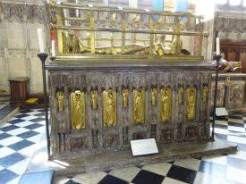 Richard Beauchamp's tomb, 2019.   Image courtesy of Rachael Marsay