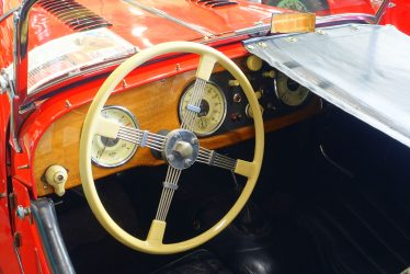 A Bluemels Steering Wheel
