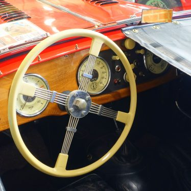 A Bluemels Steering Wheel