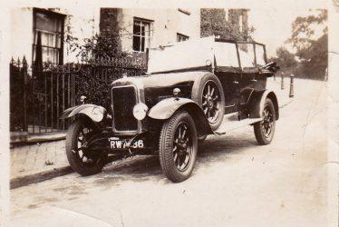 Leamington Spa.  Clyno Car