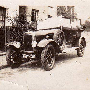 Leamington Spa.  Clyno Car