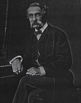 John William Joseph Vecqueray, founder of Hillbrow in 1859. | Image supplied by Francis Clark-Lowes