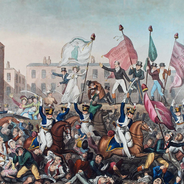 The Peterloo Massacre and its Link to Warwickshire