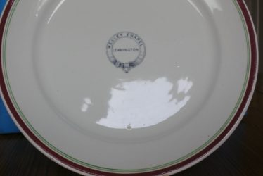 A Wesley Chapel Plate From Leamington