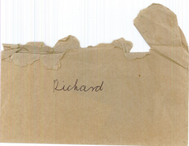 Envelope containing letter from Granny Wilson, Mabel Wilson, written in 1992. | Image courtesy of  Richard Hancock