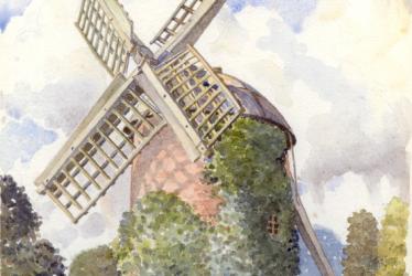 Leamington Spa.  Windmill, Tachbrook Road