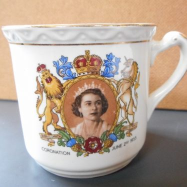 Warwickshire in 100 Objects: 1953 Coronation Mug