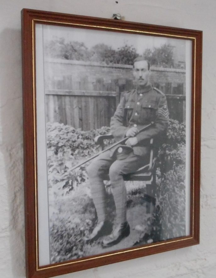 Portrait of Charles Streather, who served during World War One | Image courtesy of Chilvers Coton Heritage Centre
