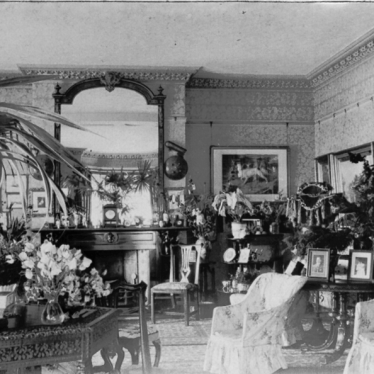 Eathorpe.  Eathorpe Park Drawing Room