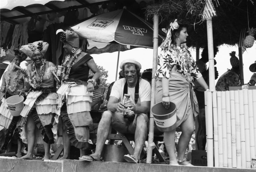 Nuneaton. Carnival, 1987.   Image courtesy of Fred Hands, supplied by Nuneaton Memories.