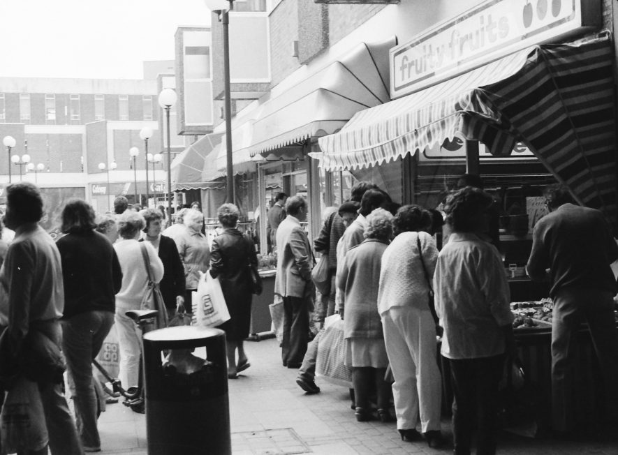 Nuneaton. Heron Way (renamed Abbeygate Shopping Centre) | Image courtesy of Fred Hands, supplied by Nuneaton Memories.