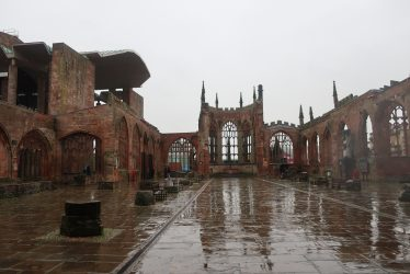 Ghosts (?) in and Around Coventry Cathedral