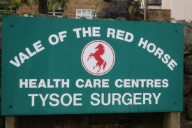 How the red horse name lives on in Tysoe. | Image courtesy of Gary Stocker