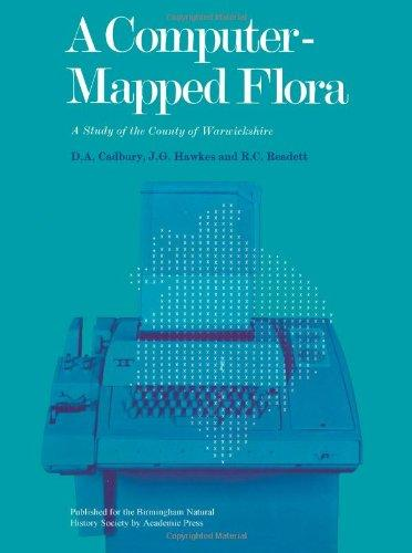 Front cover of Dorothy Cadbury's Computer Mapped Flora of Warwickshire | Image courtesy of Warwickshire Museum