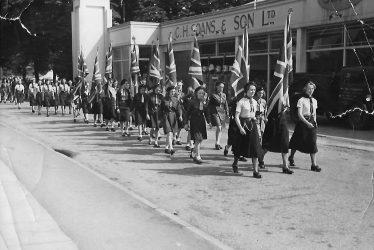 Leamington Spa.  Girl Guides