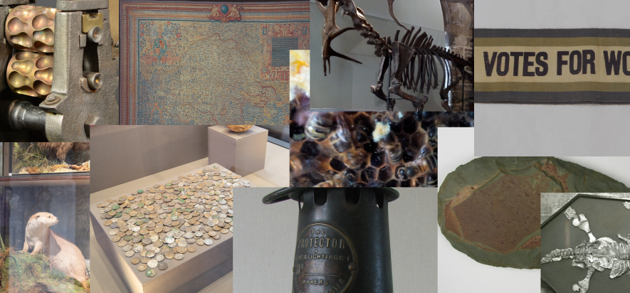 The top ten objects... but which will come top? | Image courtesy of Heritage & Culture Warwickshire