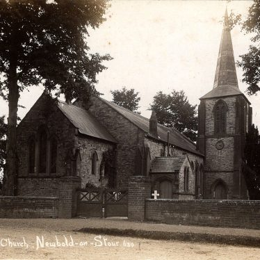St David's Church, Newbold on Stour (pre-1948) | Stephen Hartley