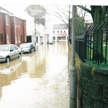 Gloucester Street, looking towards Bath Street, Leamington Spa, 1998 | Image courtesy of Gary Stocker