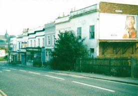 Tachbrook Road, which ran alongside the building. | Image courtesy of Gary Stocker