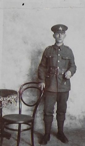 William Grassam in uniform | Image courtesy of Anne Kish