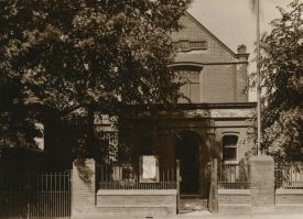 The original Miners' Offices, Collycroft, Bedworth | Image from Warwickshire Miners' Association. Warwickshire County Record Office reference CR3323/1044
