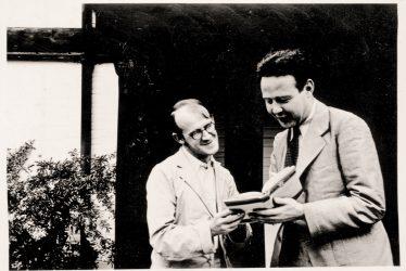 Dorridge.  John Hampson and Wolfgang von Einsiedel at Four Ashes