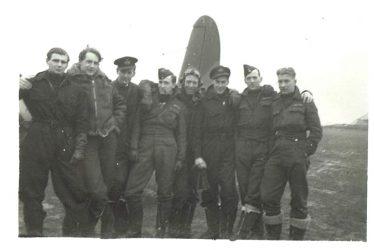 Hockley Heath.  Edgar Thomas [Tom] Abbott at Airfield