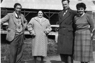 Broom.  Gardiner Family at Adkins Mill