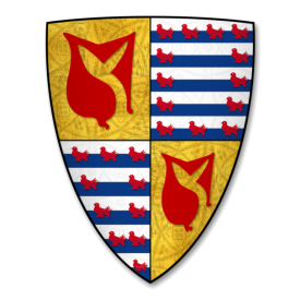 An image of the Coat of Arms of Baron Hastings