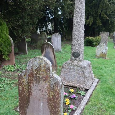Photograph of the well-tended grave of Joseph Arch, in the churchyard of St Peter's, Barford. | Image courtesy of Gary Stocker